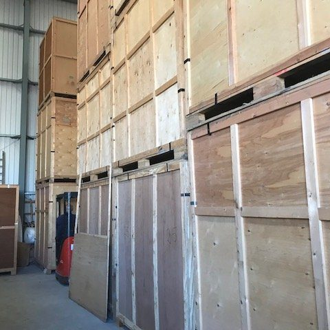 Warehouse containers